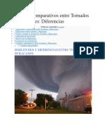 Cuadros Comparativos Entre Tornados y Huracanes