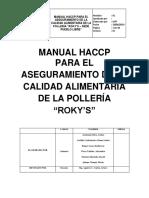 Manual Haccp - Pollerria Rokys Pueblo Libre