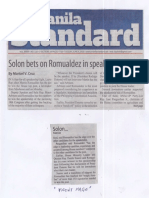 Manila Standard, June 4, 2019, Solon bets on Romualdez in speakership race.pdf