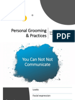 Personal Grooming and Work Practices