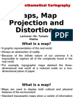 L2_Maps, Map Projection and Distortions