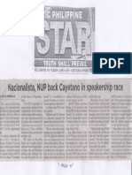 Philippine Star, June 4, 2019, Nacionalista, NUP back Cayetano in speakership race.pdf