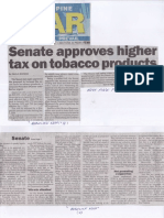 Philippine Star, June 4, 2019, Senate approves higher tax on tobacco products.pdf