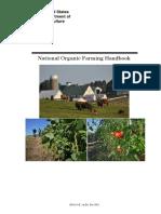 USA Natonal Organic Farming Hand Book