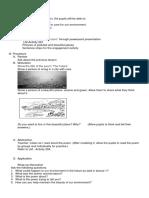 Lesson Plan in English III