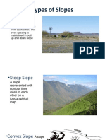 Types of Slopes