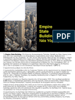 Empire State Building, New York.ppt