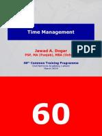 (Jawad DogAR) Time Management CSA