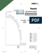 Panasonic CS-SA12CKP User Manual