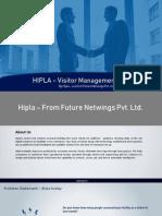 HIPLA – Visitor Management System