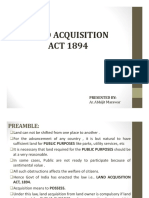 5 Land Acquisition Act