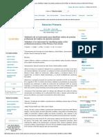 Validación de Un Instrumento Para Identificar Estilos de Práctica Profesional Del Médico de Atención Primaria _ Atención Primaria