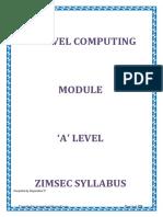Computing Notes-A Levels Tsambe