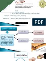 Diapositiva de Derecho de Sucesiones 100%