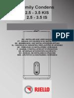 Familycondens3.5kisriello Manual Tehnic Family Condens2.5-3.5is,Kis-Instalare