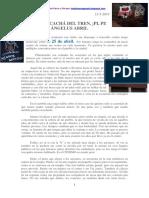 El Chacachá Del Tren ¡Pi, Pi! Ángelus Abril