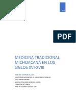 Medicina Tradicional Michoacana en Los Siglos Xvi