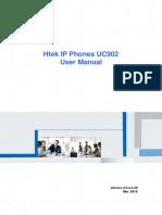 Htek IP Phones UC902 User Manual V4!4!29