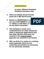 PMI PBA Business Case Template1