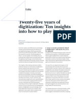 MGI Briefing Note Twenty Five Years of Digitization May 2019