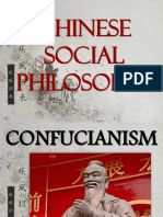 Chinese Social Philosophy