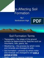 Factors Affecting Soil Formation