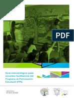 Guia Metodologica Para Docentes Facilitadores Del PPE. Regimen Costa 2019 2020