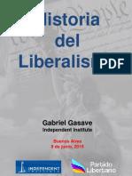 Escuela Libertaria Arg. - Taller 1 - Historia Del Liberalismo - 8 de Junio, 2018