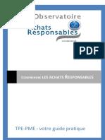 Comprendre Les Achats Responsable 2012