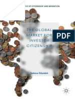 Jelena Džankic, The Global Market for Investor Citizenship