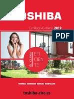 201906 Toshiba Catálogo General Aire 2019