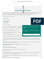 Formal Job Offer Letter Sample Template _ Workable