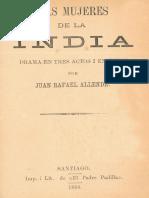 Juan Rafael Allende - Las Mujeres de La India