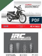 Manual de Partes Kymco Track Julio 2017