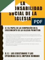 La Responsabilidad Social de La Iglesia