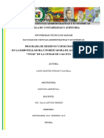 Matriz Gestion Ambiental