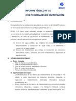 Informe Técnico n 1 Epsel