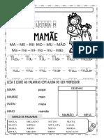 1_ ano - Letra M