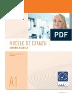 Modelo de Examen de Español