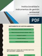 Tema 2 Instrumentos de Gestión Ambiental
