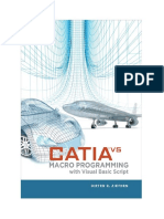 CATIA V5-Macro Programming With Visual Basic Script1