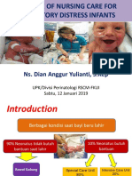 Nursing Care Respiratory Distress (Dian)