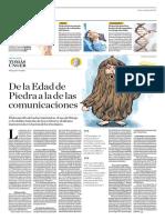 De La Edad de Piedra a La de Las Comunicaciones