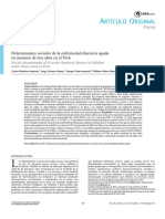Determinantes Sociales de La Enfermedad Diarreica Aguda