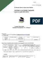 Raport Harin I. 2019 Mai