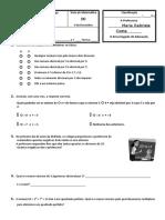 2 teste B números inteiros 2010 .doc