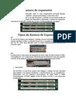 Ranura de Expansión (Rosado, Castro , Gavilanez)