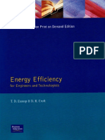 Energy Efficiency for Engineers and Technologists