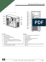 HP ProLiant ML310 G5 Specs