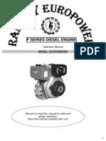 Libretto Uso & Manutenzione Ramnay Diesel En